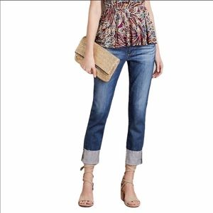 AG The Stevie Slim Straight Cuff Ankle Jeans